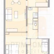 Nancy, квартирa 3 комнаты, 50 m2