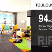 Toulouse, Wohnung 4 Zimmer, 94 m2