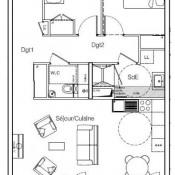 produit d'investissement Appartement 3 pièces Cessy