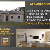 Maison 4 pièces + Terrain Saint-Symphorien-sous-Chomérac