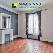 Paris 18ème, Appartement 2 pièces, 41 m2