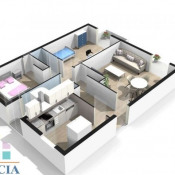 vente Appartement 3 pièces Merignac