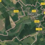 Terrain 453 m² Delme (57590)