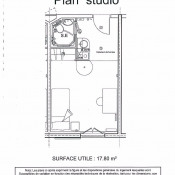 Brunoy, Appartement 3 pièces, 17,8 m2
