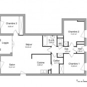 location Appartement 4 pièces Quetigny
