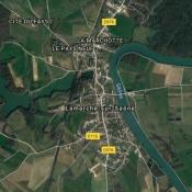 Terrain 893 m² Lamarche-sur-Saône (21760)