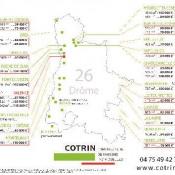 Terrain 278 m² Cléon-d'Andran (26450)