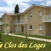 Coutras, Appartement 2 pièces, 52,32 m2