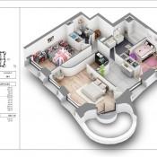 Vente de prestige appartement Lyon 2ème 923000€ - Photo 2