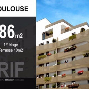 Toulouse, Wohnung 4 Zimmer, 86 m2