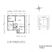 Maison 3 pièces + Terrain Brouilla