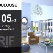 Toulouse, Appartement 5 pièces, 105 m2