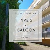 Dijon, Appartement 3 pièces, 51,4 m2