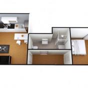 Courbevoie, Appartement 2 pièces, 33 m2