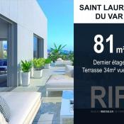 Saint Laurent du Var, Appartement 4 pièces, 81 m2