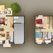 Maison 5 pièces + Terrain Mions