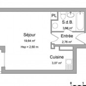 Annemasse, Studio, 29,45 m2