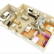 Maison 4 pièces + Terrain Ondes