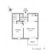 Vauréal, Apartamento 2 assoalhadas, 33,49 m2