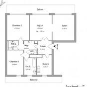 location Appartement 4 pièces Montigny les Metz