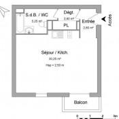 location Appartement 1 pièce Pontault Combault
