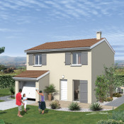 Maison 6 pièces + Terrain Montalieu-Vercieu