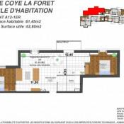produit d'investissement Appartement 3 pièces Coye-la-Forêt