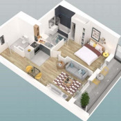 Sale apartment Caen 134000€ - Picture 2