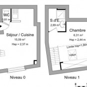 Villejust, Studio, 25,1 m2