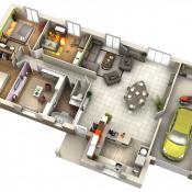 Maison 4 pièces + Terrain Augerans