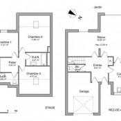 Courcouronnes, Maison / Villa 4 pièces, 91,01 m2