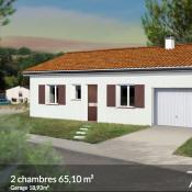 Maison 3 pièces + Terrain Saint-Clar