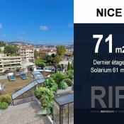 Nice, квартирa 3 комнаты, 71 m2