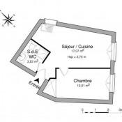 Collias, Apartment 2 rooms, 31.51 m2