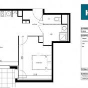 Saint Orens de Gameville, квартирa 2 комнаты, 42 m2