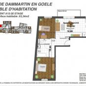 produit d'investissement Appartement 3 pièces Dammartin-en-Goële