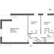 location Appartement 3 pièces Clermont l'Herault
