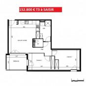 Béziers, Apartment 3 rooms, 58 m2