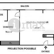 Asnières sur Seine, квартирa 2 комнаты, 48 m2