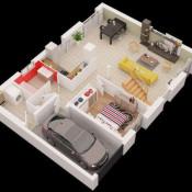 Maison 5 pièces + Terrain Mignières