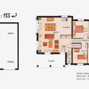 Maison 4 pièces + Terrain Coublevie
