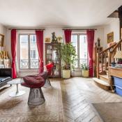 Paris 17ème, Duplex 5 pièces, 87,01 m2