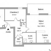 Горноводск, квартирa 3 комнаты, 65,47 m2