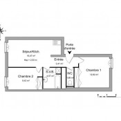 location Appartement 3 pièces Savigneux