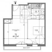 Paris 18ème, Appartement 2 pièces, 40 m2