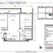 Melun, Appartement 3 pièces, 62 m2