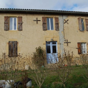 Boulogne sur Gesse, casa antiga 5 assoalhadas, 178 m2