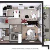 Albertville, Wohnung 2 Zimmer, 53,87 m2