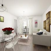 Quincy sous Sénart, Appartement 2 pièces, 44 m2
