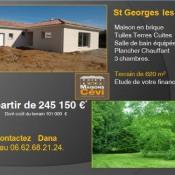 Maison 5 pièces + Terrain Saint-Georges-les-Bains